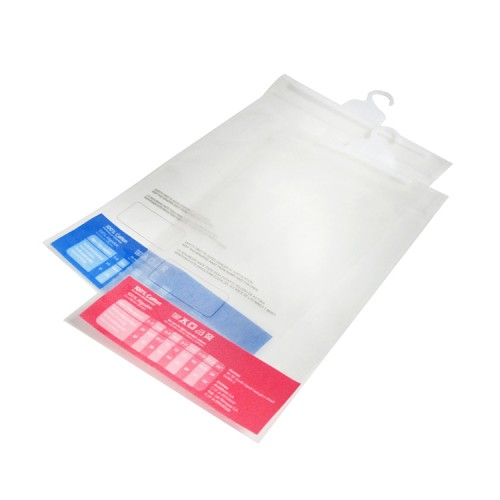 Quality Chinese Products Plastic Hanging Hook Bag, Bags with Plastic Hanger