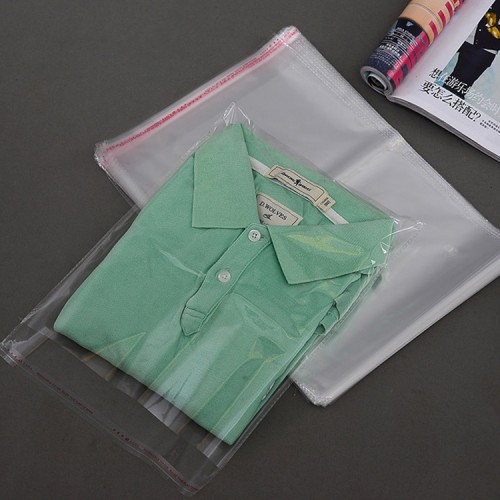 Customized Transparent Poly Packing Bag, High Quality Printed Plastic Opp Pen Bag
