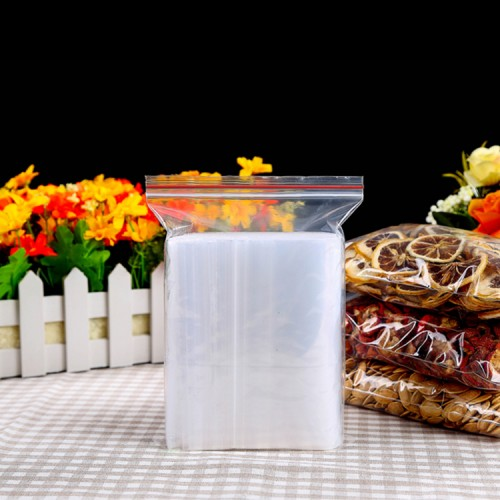 Eco-friendly Soft Plastic Recycled Ziplock Food Storage Bags, Factory Soft Plastic Recycled Ziplock Bags