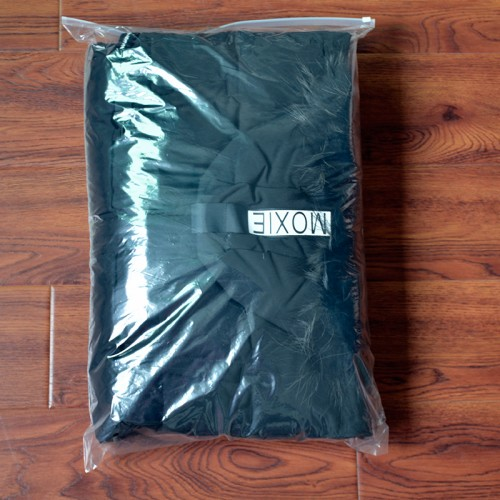 Soft Grind Arenaceous Sealer Ziplock Clothing CPE Zipper Bag