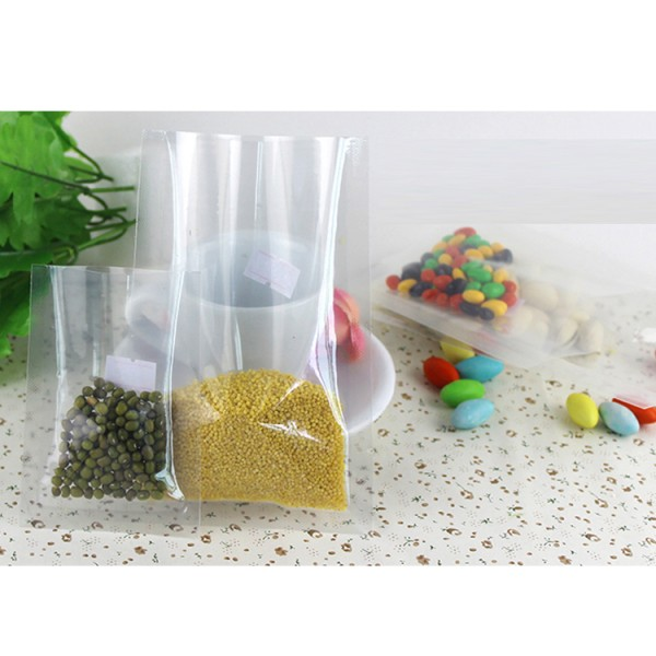 Smell Proof Mylar Foil Sample Pouch Heat Sealable Aluminum Foil Bag Bulk Food Storage Vacuum Sealer Coffee Tea Packaging